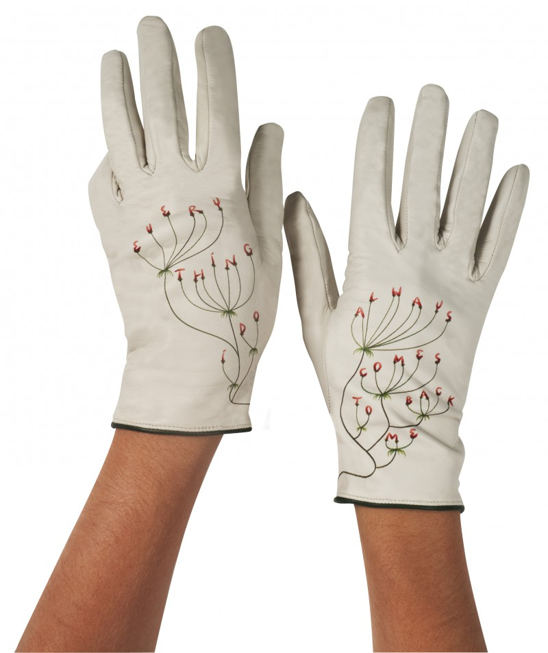 Thumbnail for Typographic Gloves